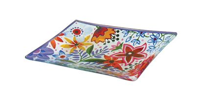 Picture of Flowers Soapdish 11x17cm